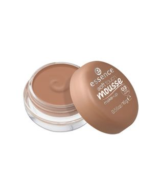 essence - maquillaje mousse soft touch - 03: matt honey