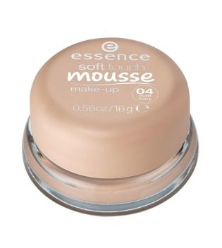 essence - maquillaje mousse soft touch - 04: matt ivory