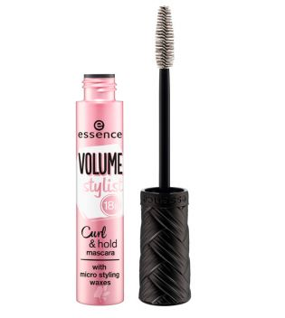 essence - Máscara de pestañas Volume stylist 18h curl & hold