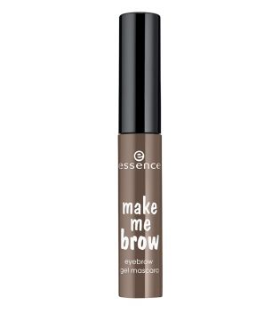 essence - Máscara gel make me brow eyebrow - 02 browny brows