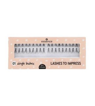 essence - Pestañas Postizas Lashes to Impress - 01: single lashes