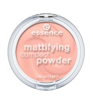 essence - polvo compacto matificador - 10: light beige