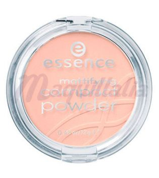 essence - polvo compacto matificante - 04: perfect beige