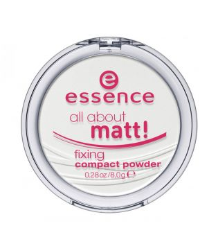 essence - polvos compactos fijadores All About Matt!