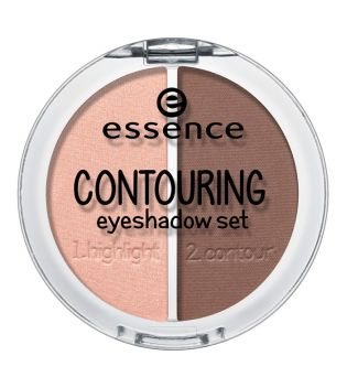 essence - Sombra de ojos Dúo Contouring - 02: Brownies with Frosting