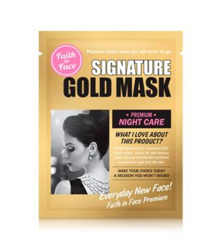 Faith in Face - Mascarilla facial Signature Gold Mask