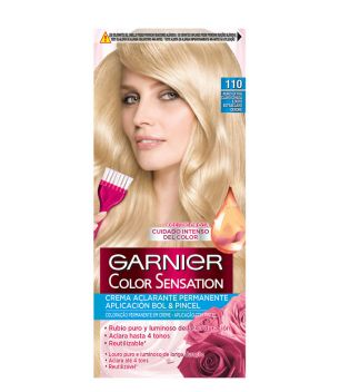 Garnier - Coloración Color Sensation - 110: Rubio Extra Claro Ceniza