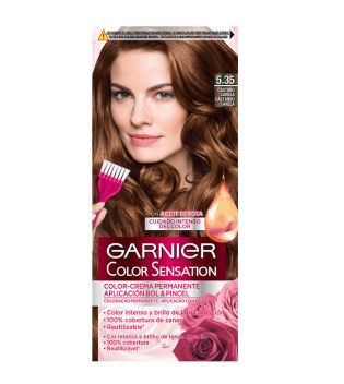 Garnier - Coloración Color Sensation - 5.35: Castaño Canela