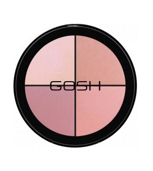 Gosh - Kit Strobe'n Glow - 002: Blush