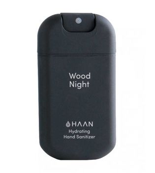 Haan - Higienizador de manos hidratante - Wood Night