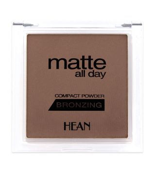 Hean - Polvo Bronceador Matte all Day Compact Powder - 506: Bahama Sun