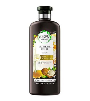 Herbal Essences - Acondicionador hidratante con leche de coco 400ml