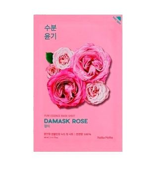 Holika Holika - Pure Essence Mask Sheet - Rosa de Damasco - Antiedad