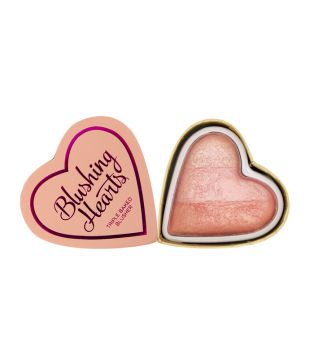 I Heart Makeup - Colorete Hearts - Peachy Pink Kisses
