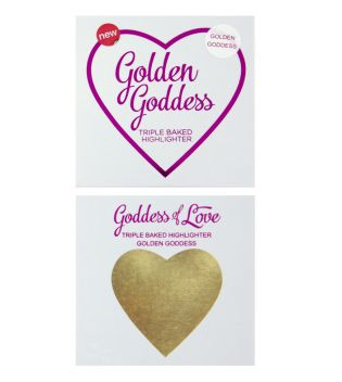 I Heart Makeup - Iluminador Hearts - Golden Goddess