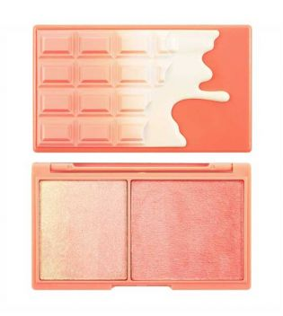 I Heart Makeup - Iluminador y colorete - Peach and Glow