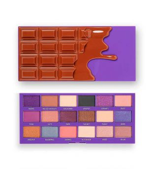 I Heart Revolution - Paleta de sombras Chocolate - Fruit and Nut