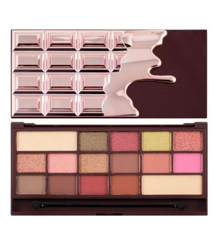 I Heart Makeup - Paleta de sombras Chocolate - Rose Gold