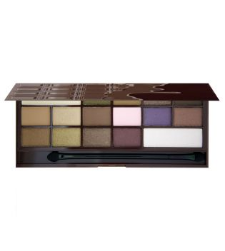 I Heart Makeup - Paleta de sombras Chocolate - I Heart Chocolate
