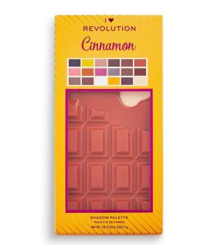I Heart Revolution - Paleta de sombras Chocolate - Cinnamon