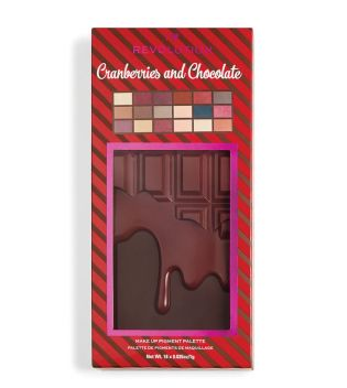 I Heart Revolution - Paleta de sombras Chocolate - Cranberries and Chocolate