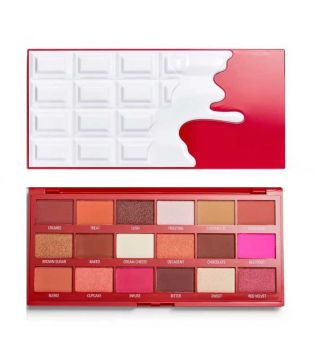 I Heart Revolution - Paleta de sombras Chocolate - Red Velvet
