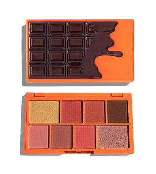 I Heart Revolution - Paleta de Sombras de ojos Chocolate Mini - Choc Orange