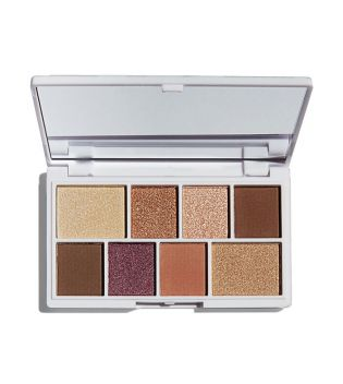 I Heart Revolution - Paleta de Sombras de ojos Chocolate Mini - Nudes