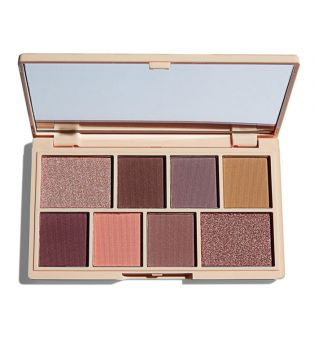 I Heart Revolution - Paleta de Sombras de ojos Chocolate Mini - Rose Gold