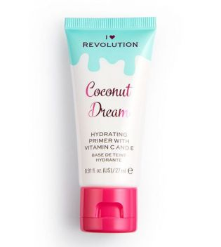 I Heart Revolution - Prebase de maquillaje - Coconut Dream