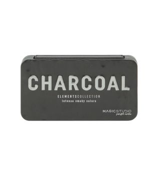 IDC Color - Mini paleta de sombras Magic Studio - Charcoal