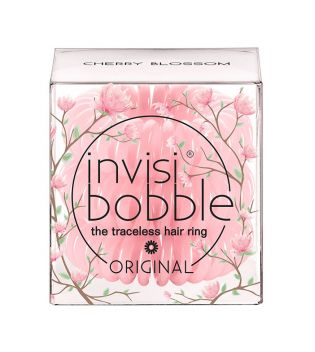 InvisiBobble - Pack 3 Coleteros Secret Garden Original - Cherry Blossom