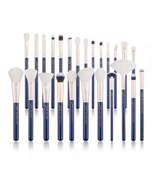 Jessup Beauty - Set de brochas 25 piezas - T490: Prussian Blue / Golden Sands
