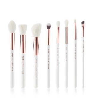 Jessup Beauty - Set de pinceles 8 piezas - T218: White/Rose Gold