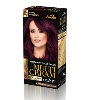 Joanna - Crema colorante para el cabello - 36 Royal Burgundy