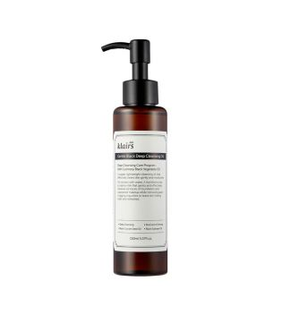 Klairs - Aceite limpiador Gentle Black Deep Cleansing Oil