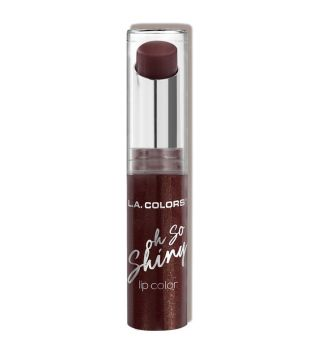 L.A Colors - Barra de labios Oh So Shiny - CLS594: Bronzed