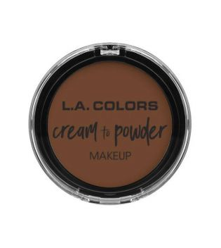 L.A Colors - Base de maquillaje en crema Cream to Powder - Cappuccino