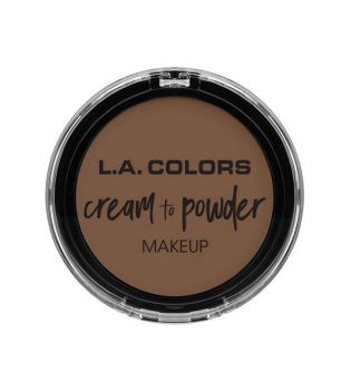 L.A Colors - Base de maquillaje en crema Cream to Powder - Toast