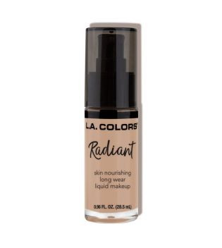 L.A Colors - Base de maquillaje fluida Radiant - Medium Tan