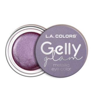 L.A Colors - Sombra de ojos en crema Gelly Glam Metallic - CES287 Rock Star