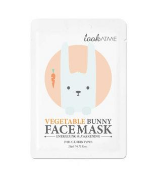 Look At Me - Mascarilla facial revitalizante y refrescante - Vegetable Bunny