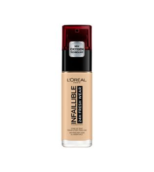 Loreal - Base de Maquillaje Infalible 24h Fresh Wear - 100: Lin