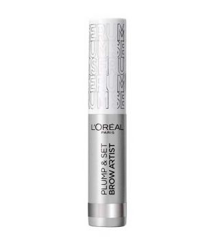 Loreal Paris - Máscara de cejas Plump & Set Brow Artist - 000: Transparent