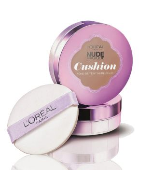 Loreal Paris - Maquillaje Cushion Nude Magique - 11: Golden Amber