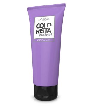 Loreal Paris - Colorista Washout temporal cabellos Claros - Purple Hair