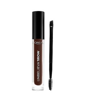 Loreal Paris - Gel para cejas Unbelieva Brow - 109: Ebony