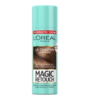 Loreal Paris - Spray Retoca Raíces Magic Retouch - Castaño 100ml