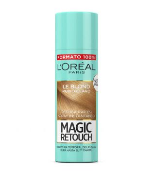 Loreal Paris - Spray Retoca Raíces Magic Retouch - Rubio claro 100ml