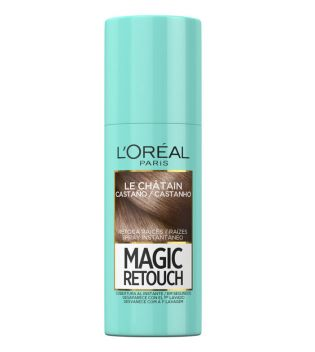 Loreal Paris - Spray Retoca Raíces Magic Retouch - Castaño 75ml